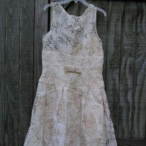 Liz Clairborne Sleevess Lacy Dress